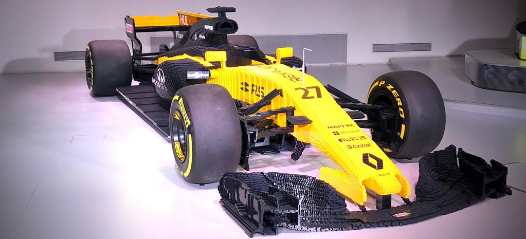 Full Scale Lego Renault F1 Car To Auction