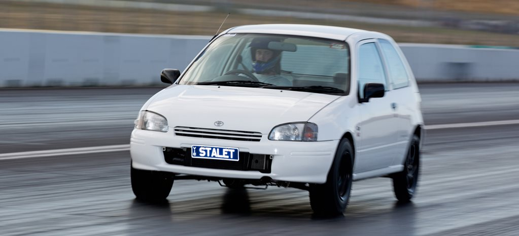 10-second turbo Toyota Starlet – Video