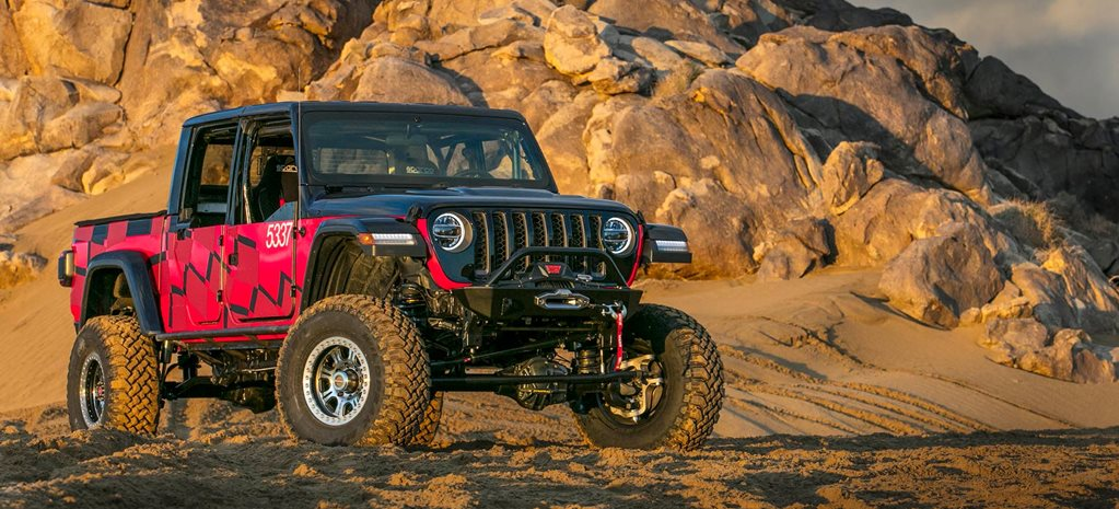 2020 Jeep Gladiator To Race At The 2019 King Of The Hammers