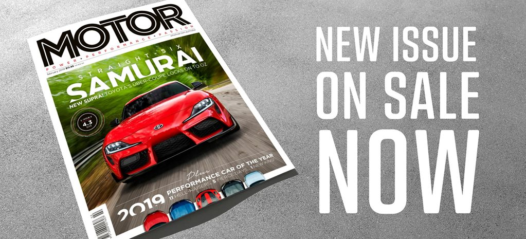 MOTOR Magazine February 2019 issue preview news