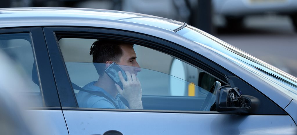 Mobile phone detection trial nabs 1000 drivers per day