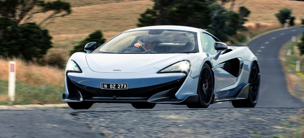2019 McLaren 600LT coupe review