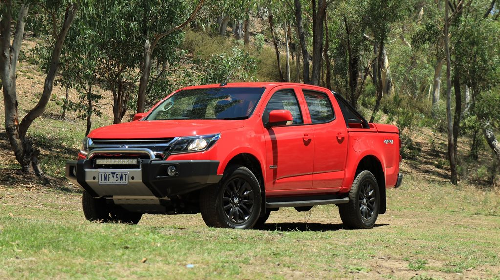 Holden Colorado LT 2019 quick review