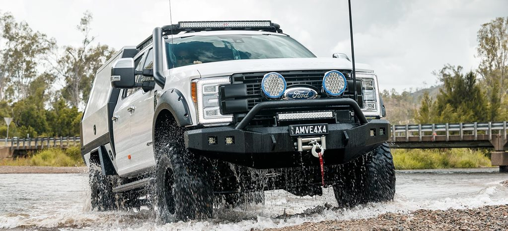 Custom Ford F-250 4x4 tourer review feature