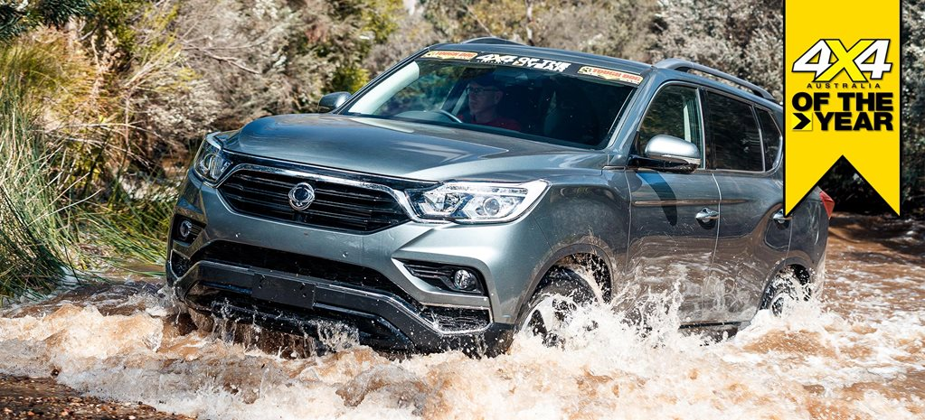 4x4 of the Year 2019 SsangYong Rexton ELX review feature