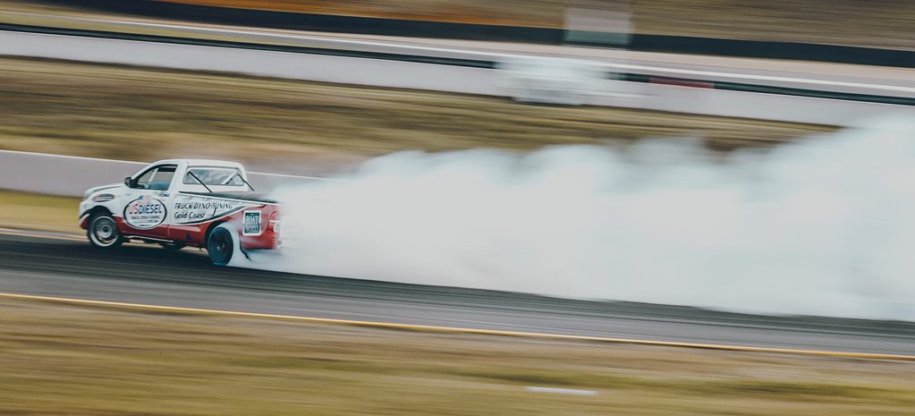 650hp LS-swapped Toyota HiLux drift ute