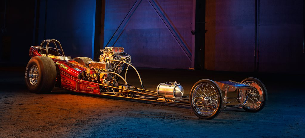 Blown 202-powered 60s-style dragster