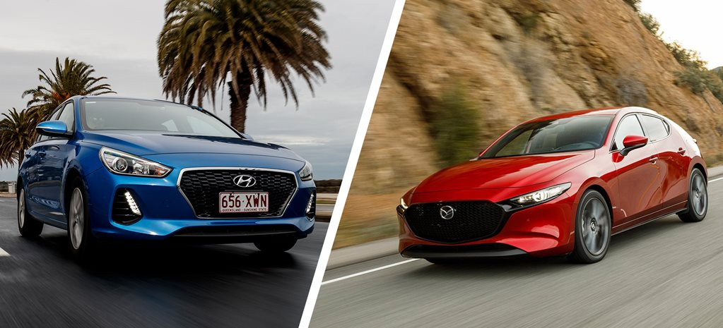 2019 Mazda 3 vs Hyundai i30: How do they stack up?