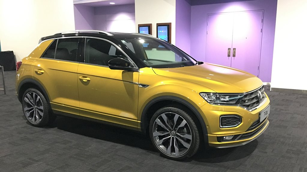 volkswagen t roc and t cross shown off in australia. Black Bedroom Furniture Sets. Home Design Ideas
