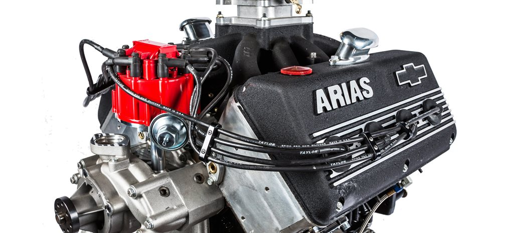 Arias-headed 365ci LS engine - Mill of the Month