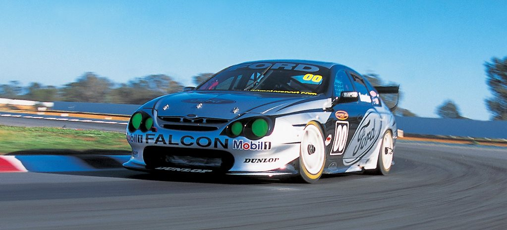 Driving Craig Lowndes 2002 Ford Falcon V8 Supercar classic MOTOR feature