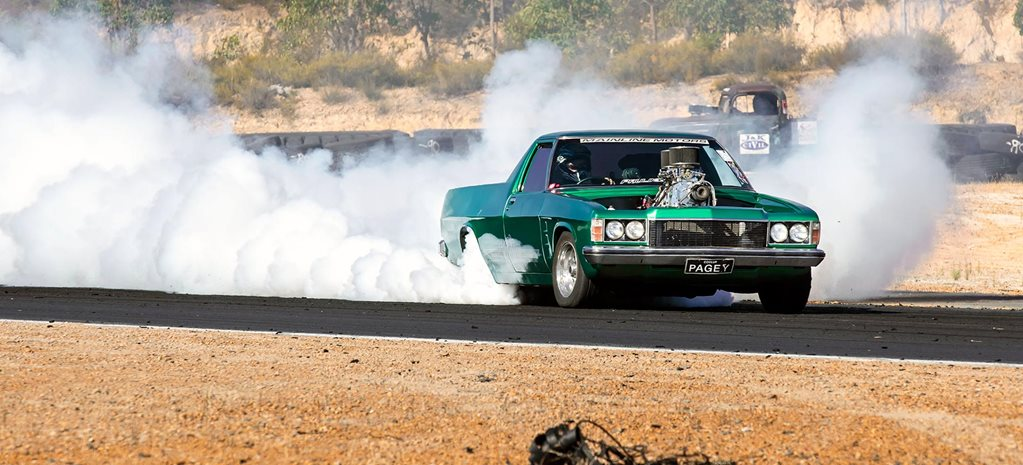 HZ Holden ute 'PAGEY' wins Gazzanats WA – Video
