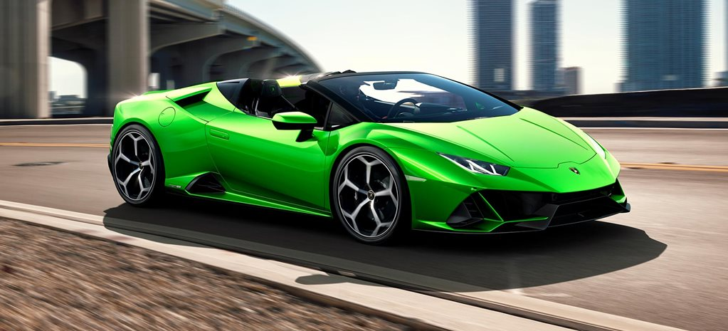 Lamborghini Huracan Evo Spyder Headed For The 2019 Geneva Motor Show