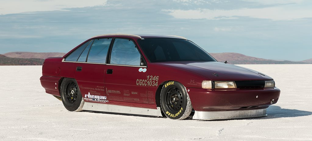200mph L98-powered Holden VN Commodore salt lake racer