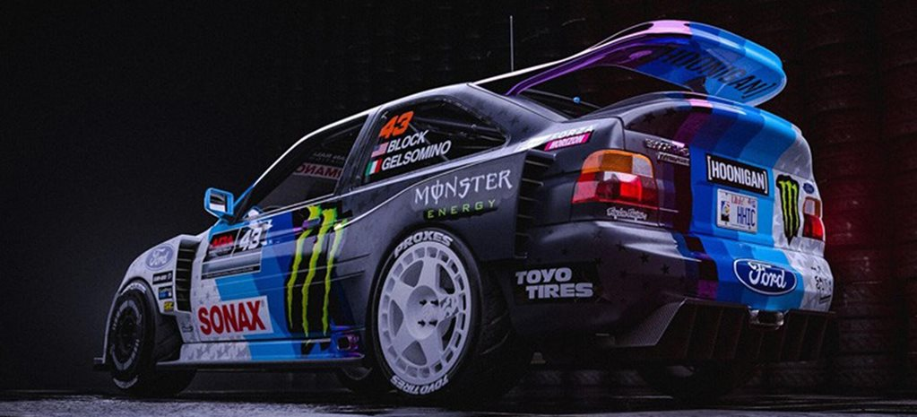 Ken Block new Ford Escort RS Cosworth revealed news