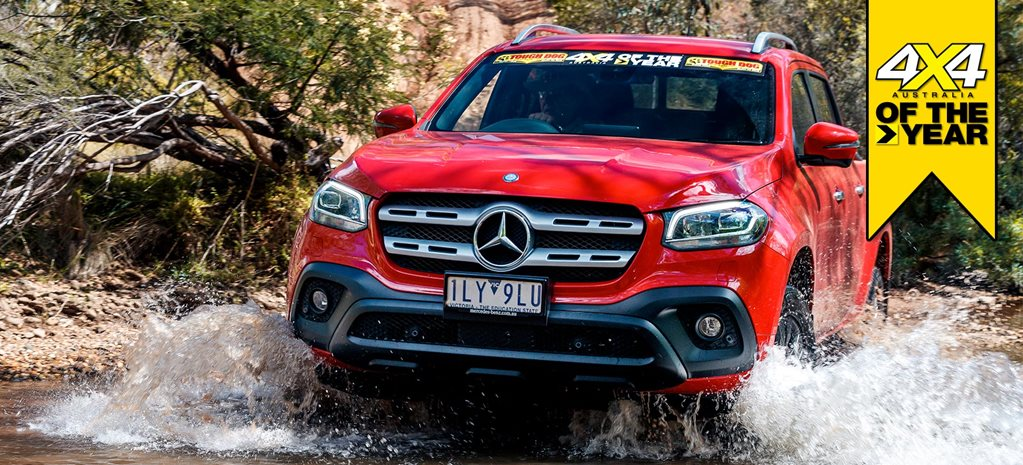 Mercedes-Benz X250d Progressive review 4x4 of the Year 2019 feature
