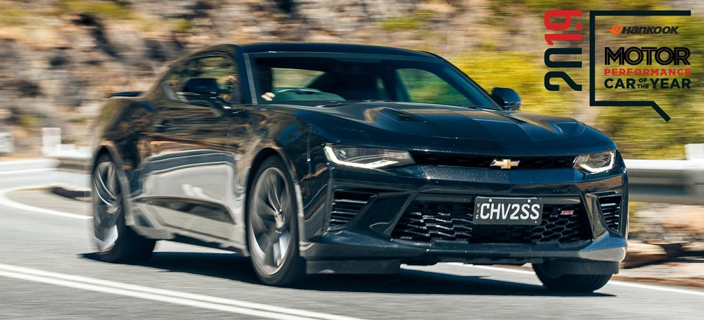 Performance Car of the Year 2019 11th place Chevrolet Camaro 2SS feature