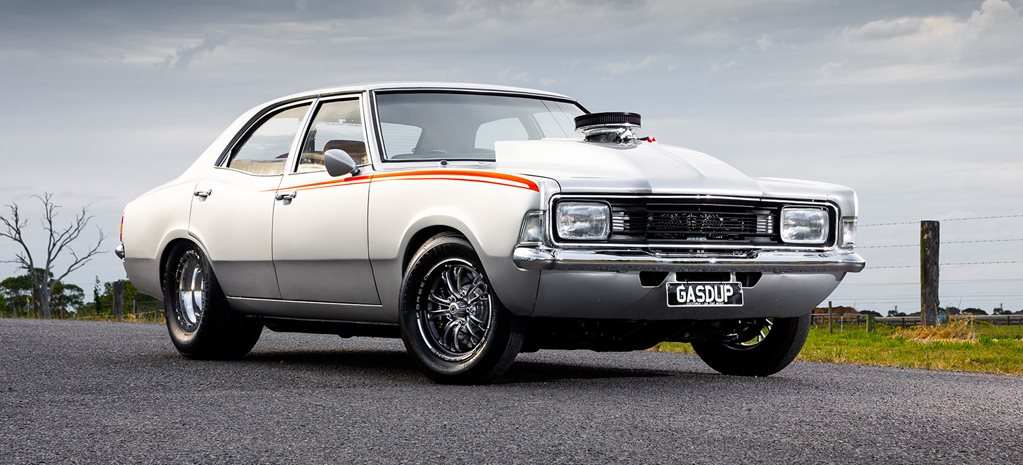 451 Windsor-powered 1975 Ford TD Cortina - GASDUP