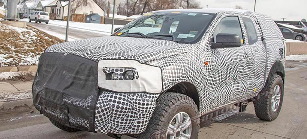 Are these spy shots of the 2020 Ford Bronco?