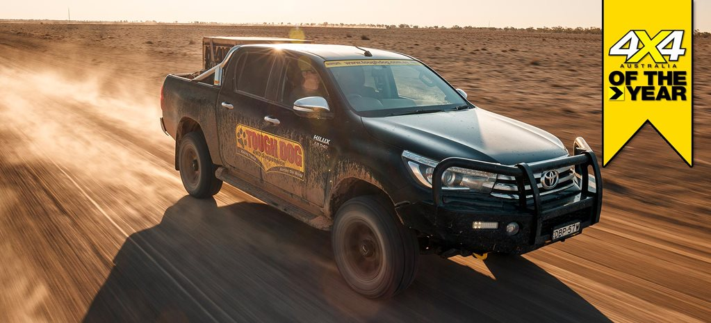 Tough Dog Toyota Hilux review 4x4 of the Year 2019 feature