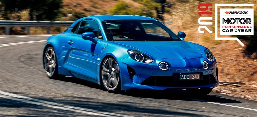 Performance Car of the Year 2019 8th place Alpine A110 feature
