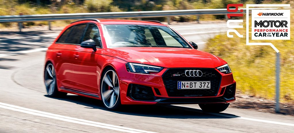 Performance Car of the Year 2019 6th place Audi RS4 Avant feature