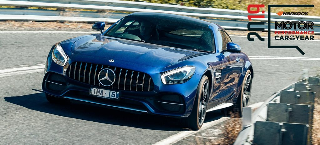 Performance Car of the Year 2019 7th place Mercedes-AMG GT C feature