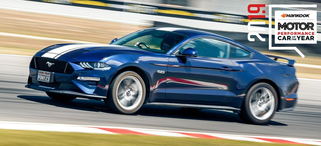 Performance Car of the Year 2019 9th place Ford Mustang GT feature