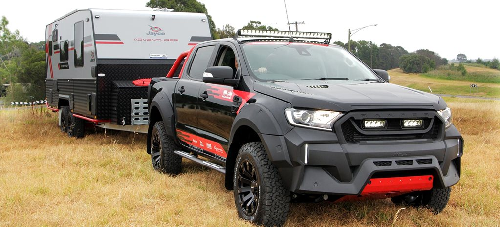 Pedders MS-RT Ford Ranger Jayco Adventurer caravan contest news
