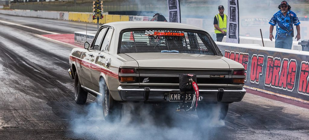 Alex Moshopoulos's twin-turbo 1971 Ford XY Falcon