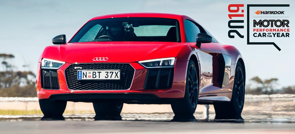 Performance Car of the Year 2019 4th place Audi R8 RWS feature