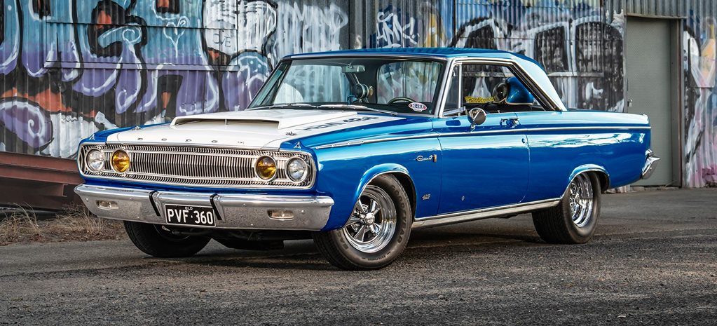 1965 Dodge Coronet Powered by a genuine Dick Landy Industries dual-quad 426 Hemi