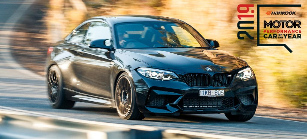 Performance Car of the Year 2019 2nd place BMW M2 Competition feature