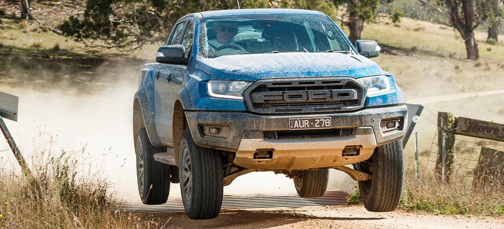 2019 Ford Ranger Raptor 4x4 feature