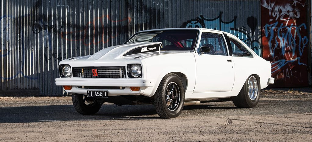 Twin-turbo LS-powered 1977 Holden LX Torana hatch