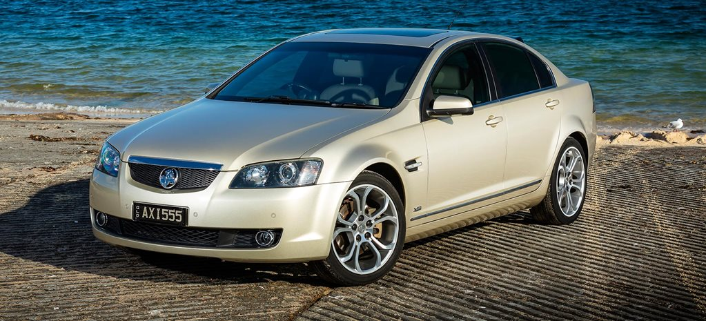 Supercharged 2007 Holden VE Calais V sleeper