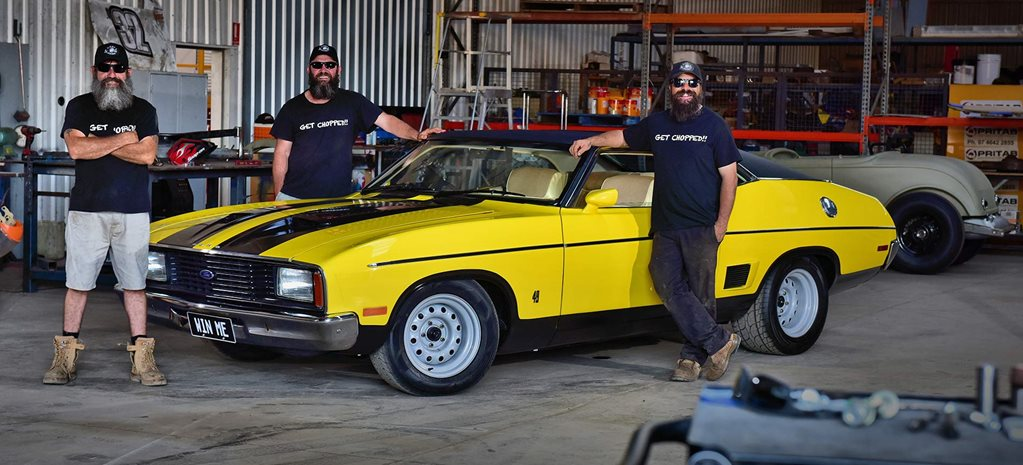 Win a restored XC Fairmont hardtop or $100k cash with Jimmy's Chop Shop