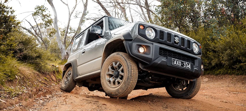 2019 Suzuki Jimny off-road review feature