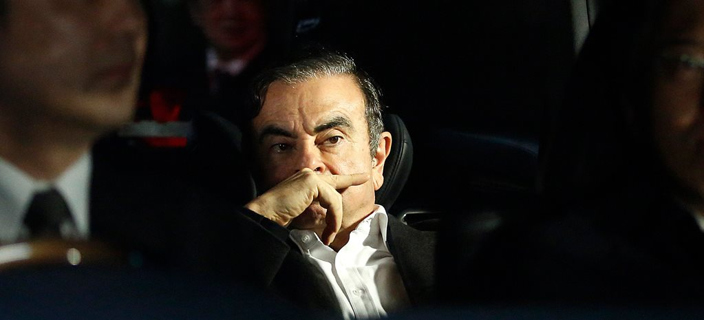 Carlos Ghosn has gone into hiding