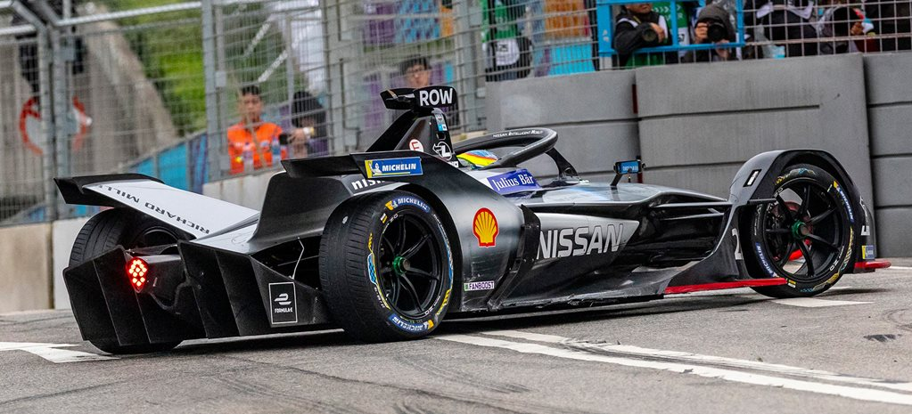 Production cars leading Formula E development race