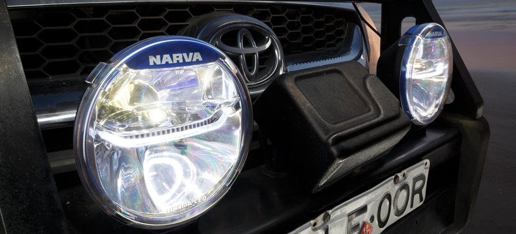 How to install 4x4 driving lights feature