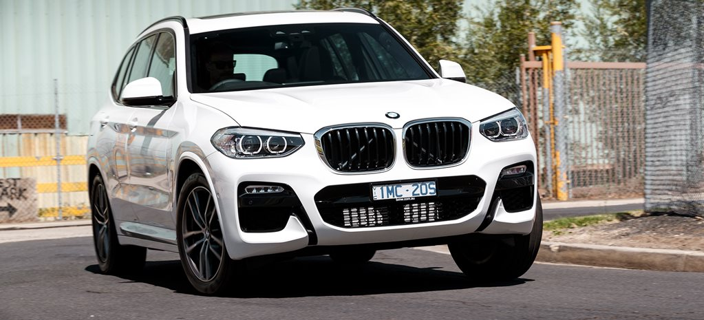 2019 BMW X3 xDrive20d M Sport video quick review