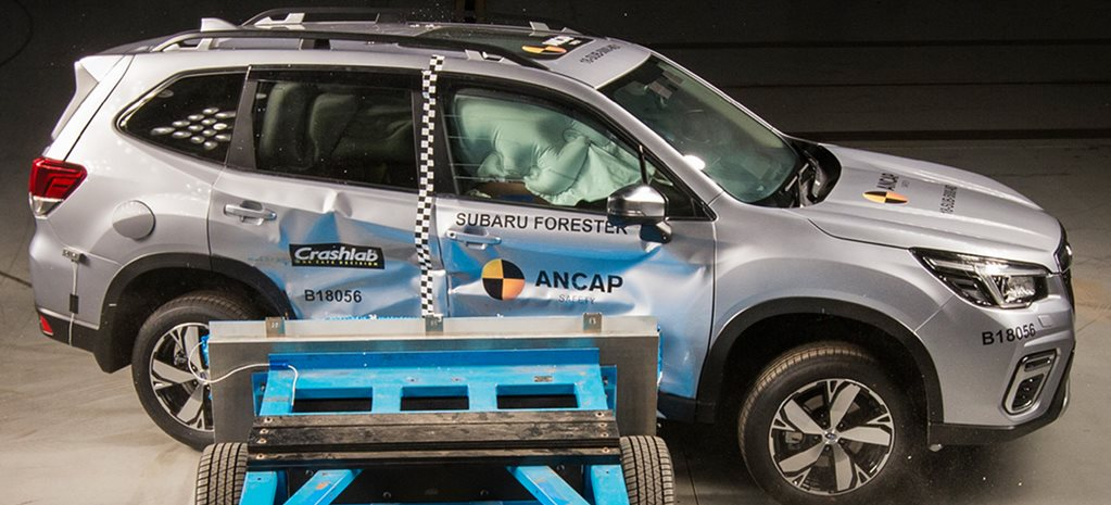 2019 Subaru Forester achieves 5-star ANCAP score – video