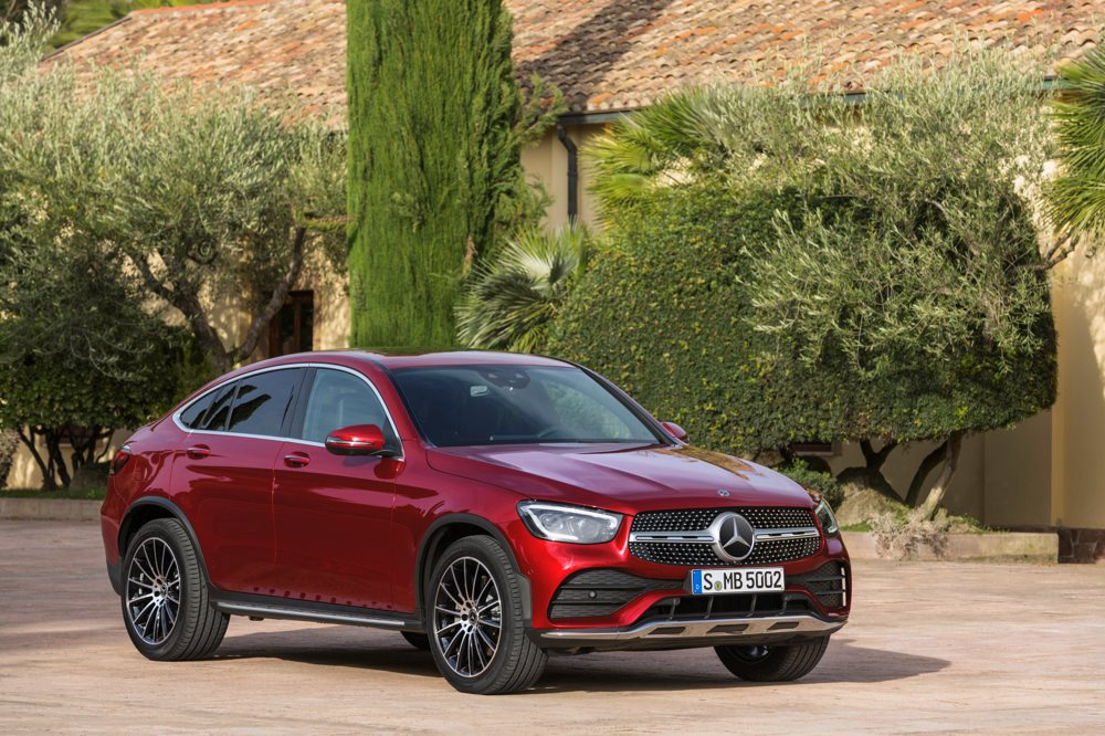 Mercedes-Benz GLC Coupe revealed, arriving this year