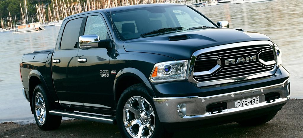 2019 RAM 1500 Laramie new grille raised chrome badging news