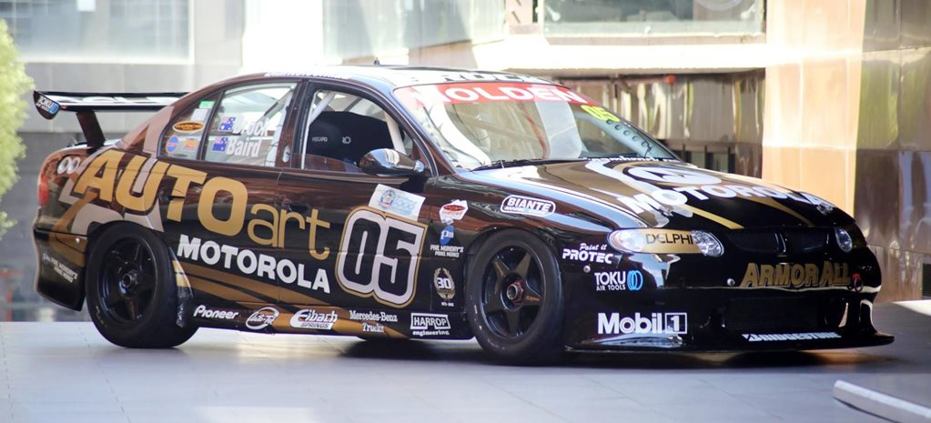 Peter Brock Autoart VX Commodore Supercar for sale feature