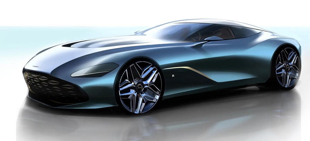 Aston Martin DBS GT Zagato design concept revealed news