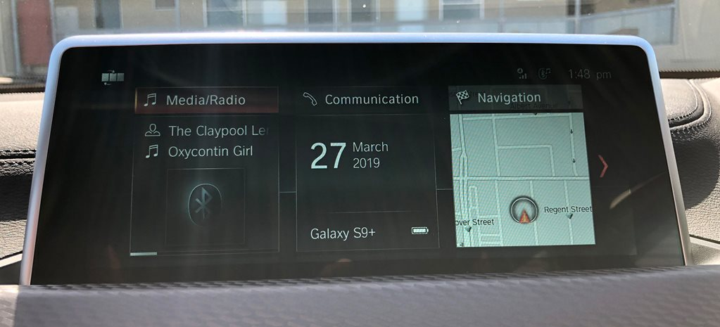How does BMW's iDrive infotainment system work?