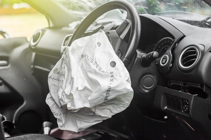 Takata airbag deployed