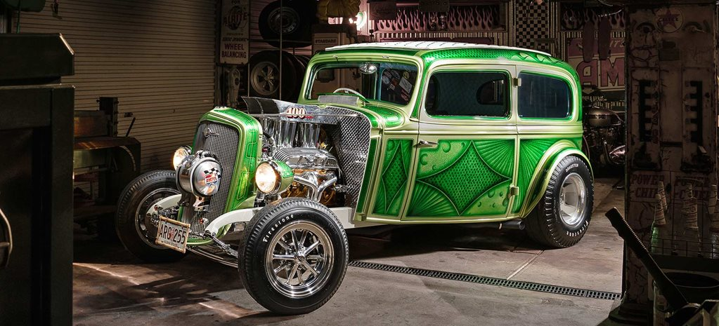 1960s-inspired 1933 Chevrolet two-door sedan - Bad Apple